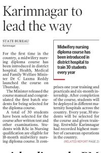 Fernandez Hospital - Telangana Government Alliance to Promote Mi