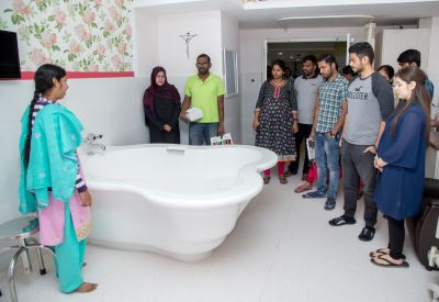 Water Birth Workshop by UK Midwives Generates Keen Interest