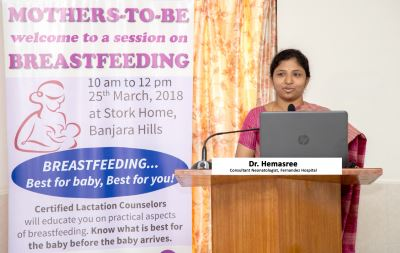 FERNANDEZ REITERATES THE IMPORTANCE OF BREASTFEEDING