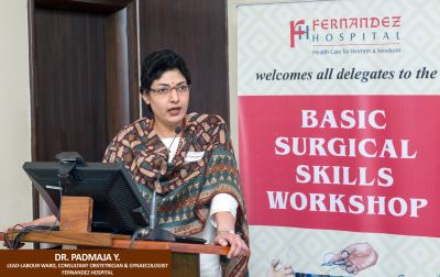 HIGH QUALITY SURGICAL SKILLS TRAINING IMPARTED AT FERNANDEZ