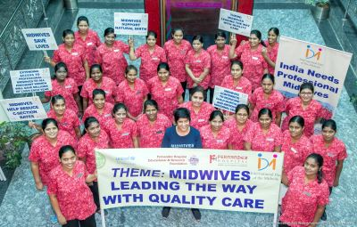 Midwives take out International Day of the Midwife rally