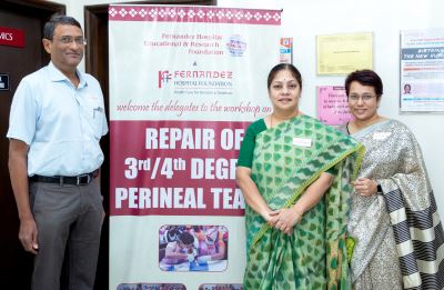 A SUCCESSFUL WORKSHOP ON 3RD AND 4TH DEGREE PERINEAL REPAIR
