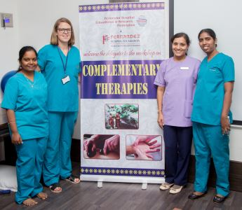 WORKSHOP ON 'COMPLEMENTARY THERAPIES'.